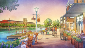 King Mill Artist's Rendition | Cape Augusta Real Estate Development Augusta GA and Evans GA