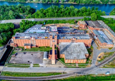Sibley Mill Areal View | Cape Augusta Real Estate Development Augusta GA and Evans GA